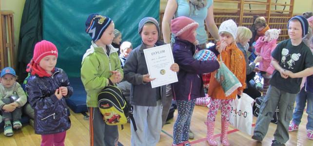 Szkolno-przedszkolny Turniej sportowy w Szkole Podstawowej