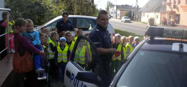 Przedszkolaki na Policji