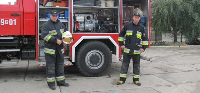 Spotkanie ze strażakami w Damasławku