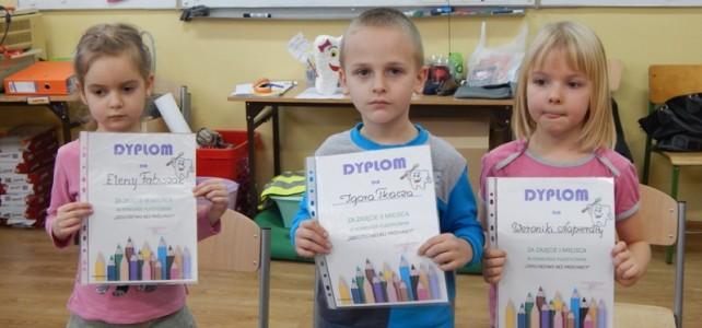 Rozstrzygnięcie konkursów w Przedszkolu w Damasławku